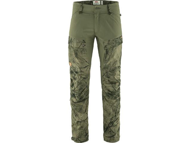 Fjällräven Keb Pantalones Hombre, verde